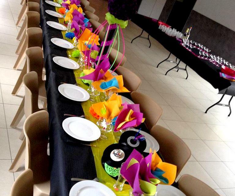 Comment décorer une salle de fête ?